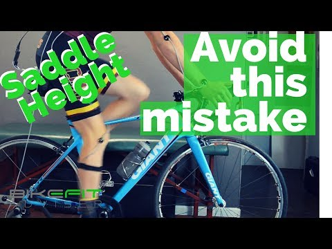 Saddle Height Tip - Get your seat height dialed to the millimeter