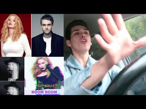 Iggy Azalea Ft. Zedd - Boom Boom Reaction!