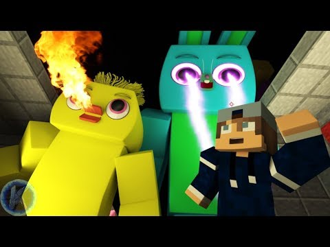 Toy Story 4 Ducky And Bunny End Credits Scene Minecraft Animation