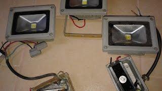 Лед прожектора ремонт, выгода при ремонте - обновленный ролик(Опыт по ремонту лед прожекторов, обновил ролик. Цены расходника в аннотациях Али экспресс - Драйвер 12 Вт..., 2015-02-06T09:20:24.000Z)