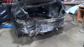 Hyundai Solaris. Ремонт задней части с использованием донора