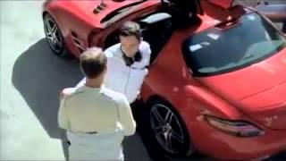MERCEDES BENZ SLS AMG yasaklanan reklamı !!! Tamamıyla gerçek !!!!