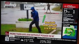HURRICANE FLORENCE FAKE NEWS - WORLD OF SIGNS