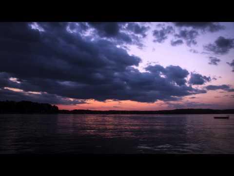 Sunset On Big Whitefish Lake