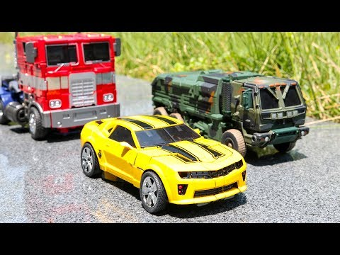 Transformers OverSized KO Weijiang M01 Optimus Prime M02 Hound M03 Bumblebee  Vehicle Car Robot Toys