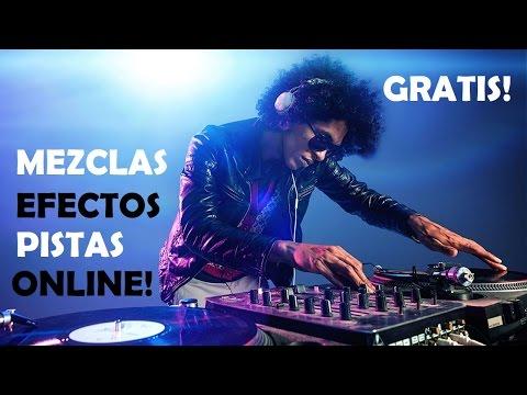 Como crear canciones, Mezclar Online Gratis!