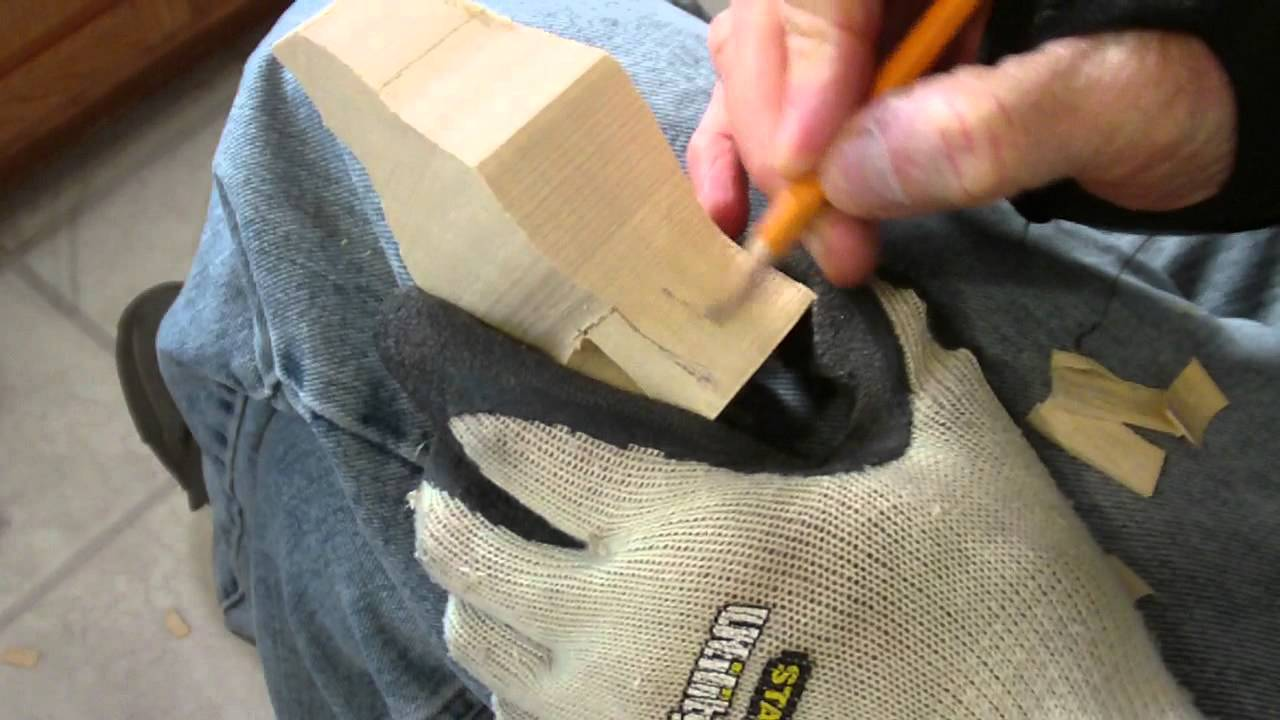 Carving The Wolf Part 1 - YouTube