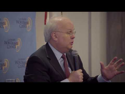 Karl Rove talks to the Los Angeles World Affairs Council May 12, 2016 - full discussion