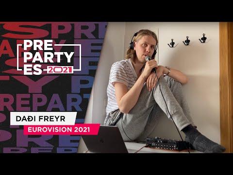 Daði Freyr - 10 Years - Islandia 2021 ??   #PrePartyES21