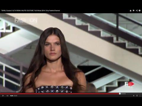 """""""SARLI Couture"""" Full Show ALTA ROMA HAUTE COUTURE Fall Winter 2014 2015"""