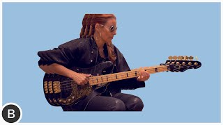 SLAP BASS - Ida Nielsen (Prince Bassist)