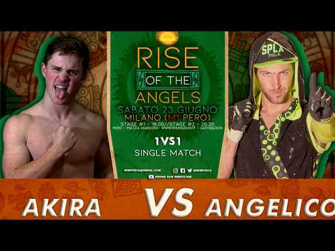 Akira vs. Angelico (commento italiano)
