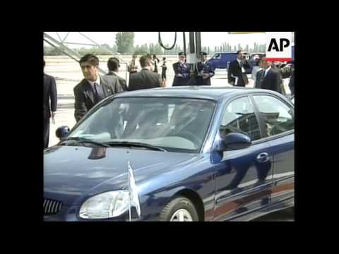 CHILE: PRESIDENT-ELECT LAGOS INAUGURATION: ARRIVALS (2)