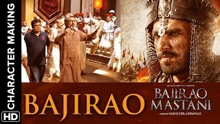 Ranveer transforms into the Peshwa Warrior | Making of the character | Bajirao Mastani