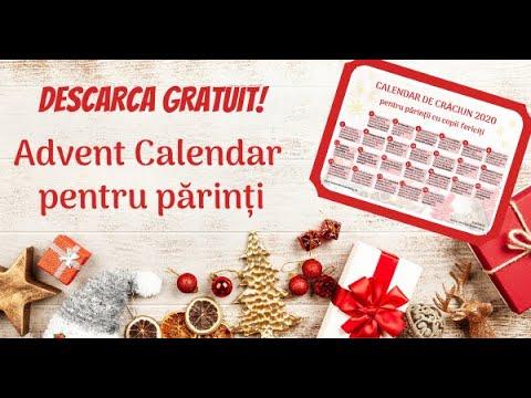 Descarcă Advent Calendar 2020 pentru părinții cu copii fericiți