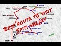 complete Spiti circuit in 6 days | route planner