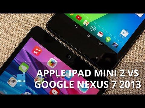 Apple iPad mini 2 vs Google Nexus 7