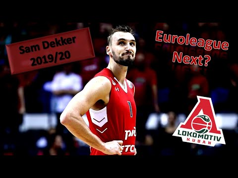 Sam Dekker ● Lokomotiv Kuban ● 2019/20 Best Plays & Highlights