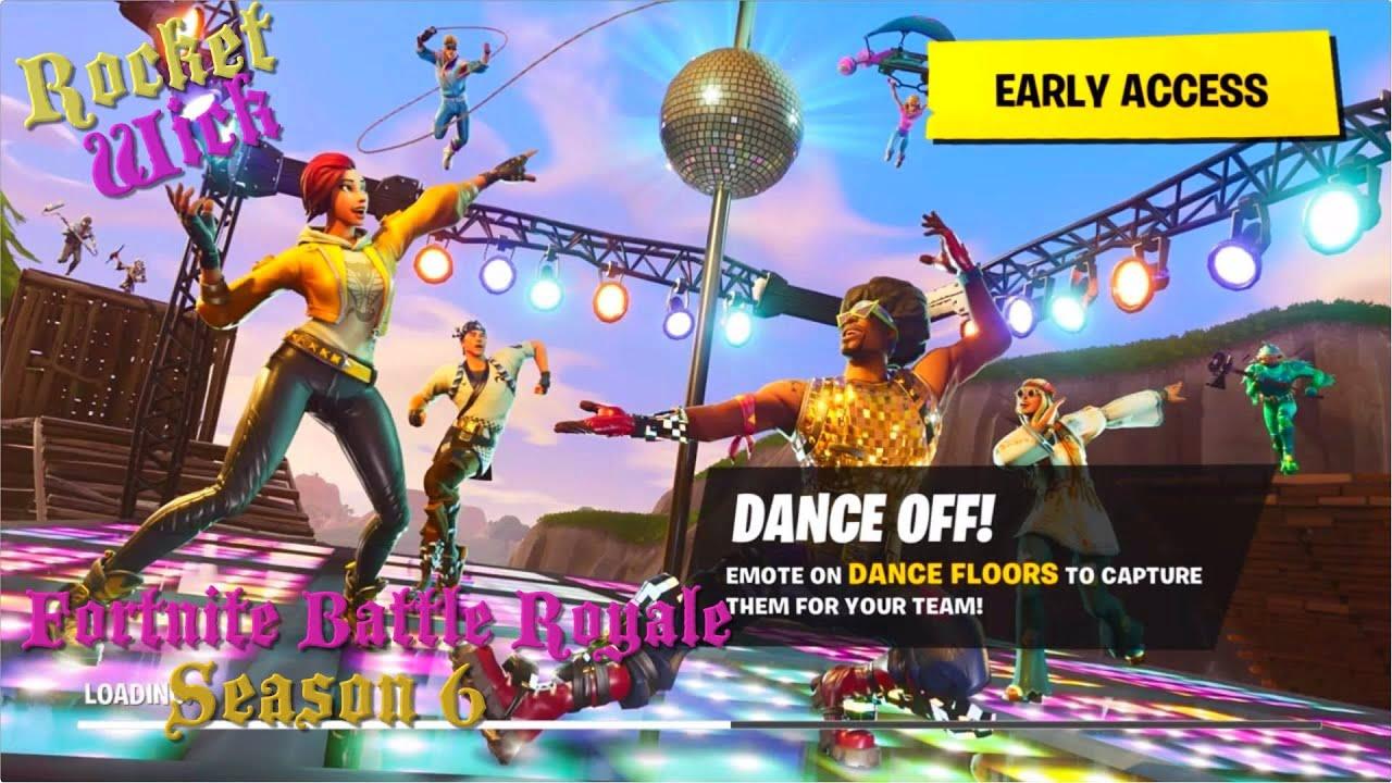 Fortnite Battle Royale// season 6   Disco Dancing