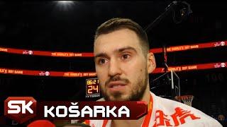 Marko Gudurić Pred Duel Srbije i Angole na Mundobasketu   SPORT KLUB Košarka