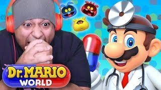 THIS NEW DR. MARIO GAME GOT THE HOTTEST MUSIC I EVER HEARD!! [DR. MARIO WORLD] [iOS]