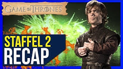 Game of Thrones Staffel 2 ♦ Zusammenfassung / Recap ❄🔥