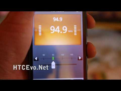 HTC Evo 4G Review [FM Radio Player Demo]