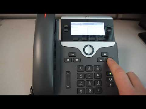 Cisco VoIP Phone: How To Set Up A Conference Call