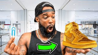 Trading A Paperclip For Expensive Sneakers! *Finessing*