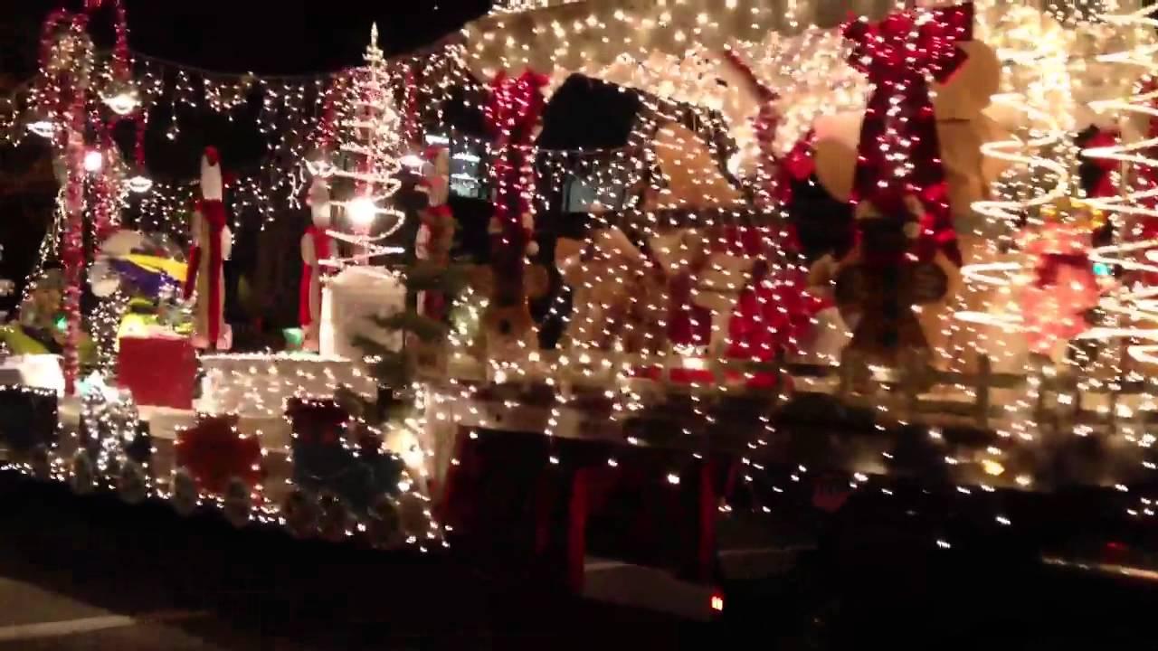 Redding H.O.G. 2011 Lighted Christmas Parade - YouTube