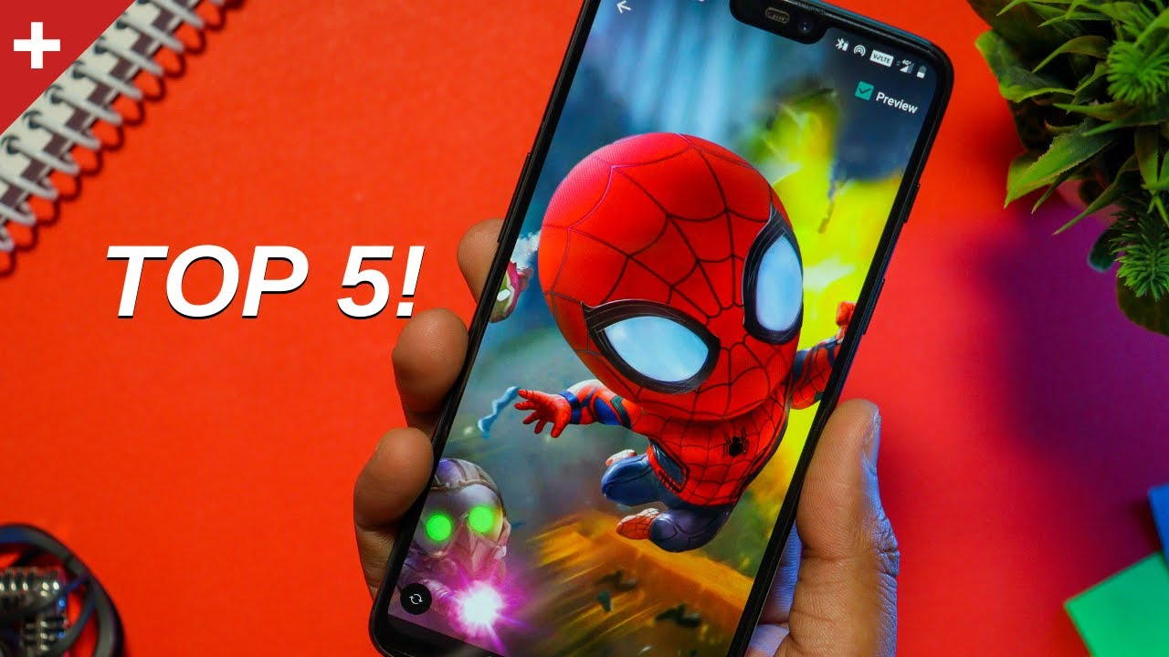 Top 5 Best Wallpaper Apps For Android ...