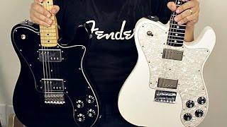Fender Telecaster Deluxe (72 Reissue vs Chris Shiflett) HIGH GAIN Comparison