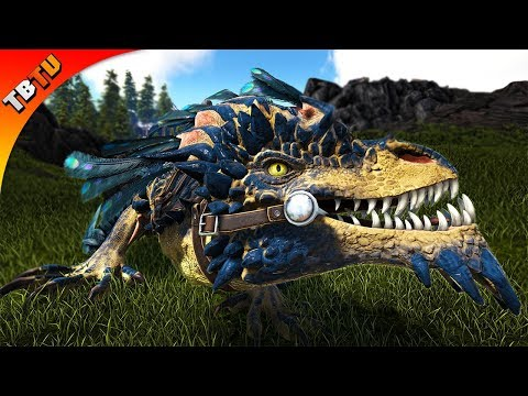 🔴 ALPHA ROCK DRAKE EGG STEALING! ARK: Ragnarok Extinction Core E18