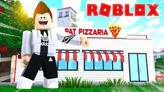 MY OWN PIZZERIA IN ROBLOX
