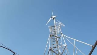 Работа Могучего на ветре 7 9 метров в секунду