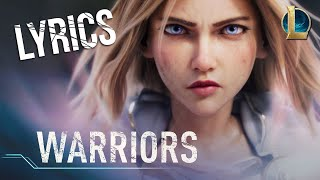 """Warriors - Season 2020 Cinematic - League Of Legends (ft. 2WEI and Edda Hayes) """"Movie And Lyrics"""""""