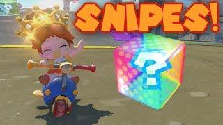 Mario Kart Item Snipe Montage 4