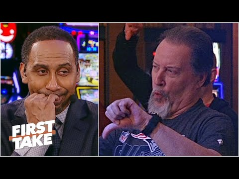 Stephen A. gets booed by First Take fans for his Tom Brady to the Cowboys take