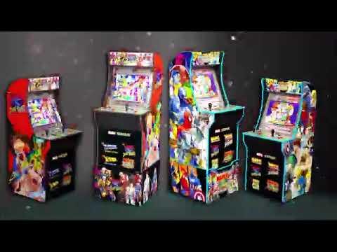 Arcade1Up X Men vs Street Fighter Teaser Trailer from RetroGames Playglobal