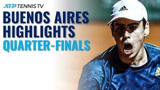 Schwartzman Faces Munar; Cerundolo Eyes Spot in Semis   Buenos Aires 2021 Highlights Day 5