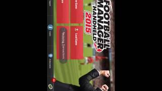 Football manager handheld 15 game play Android