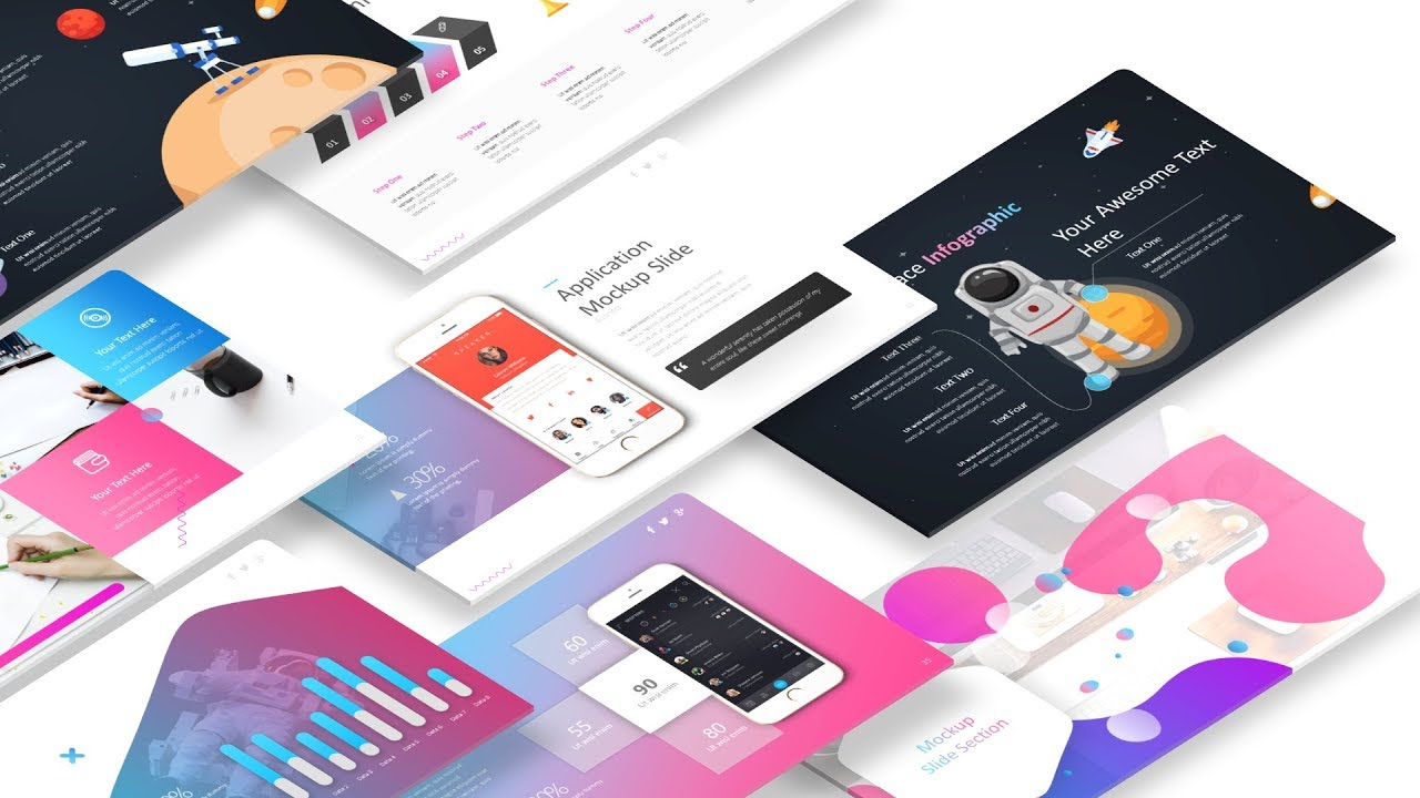 Free Modern Powerpoint Templates Presentation Design