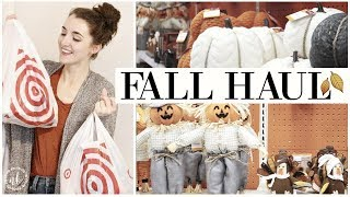 FALL HAUL 2018! ????????️Target HOME DECOR, FASHION, + BEAUTY | Halloween + Thanksgiving | Natalie B
