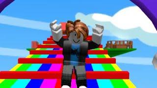 Roblox | Escapar do arco-íris Obby | (50 estágios!) | (10.000 visualizações especiais!)