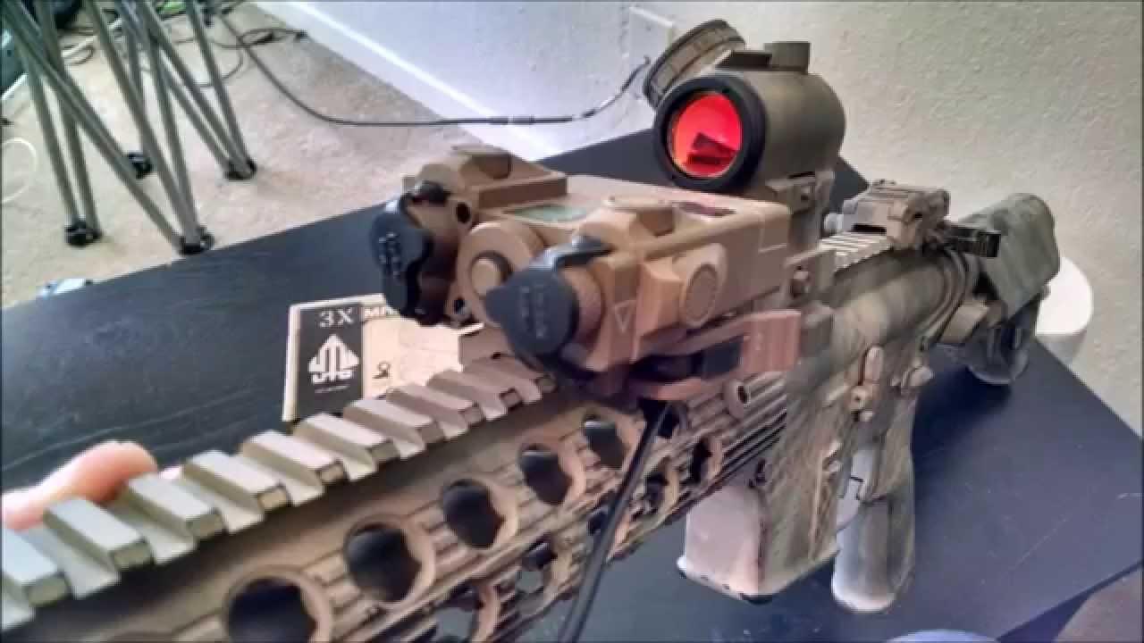 G&P dual laser illuminator - YouTube