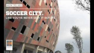 See Soccer City Like You've Never Seen It Before - Augmented Reality Soccer Stadium