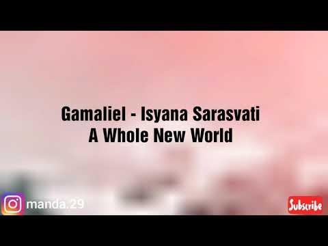 Gamaliel, Isyana Sarasvati - A Whole New World (Lyrics)  From Aladin