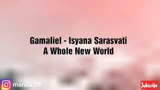 Gamaliel, Isyana Sarasvati - A Whole New World  Ly