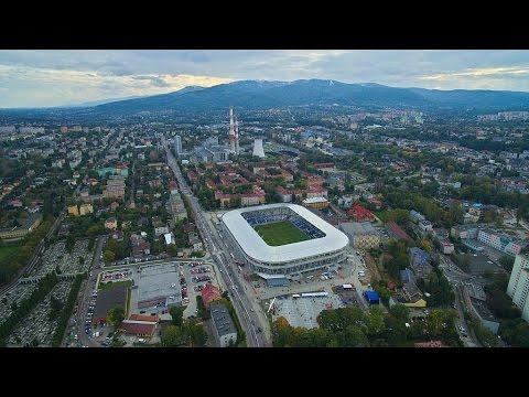 Stadion Miejski Bielsko-Biała 2016 - Nad dachami