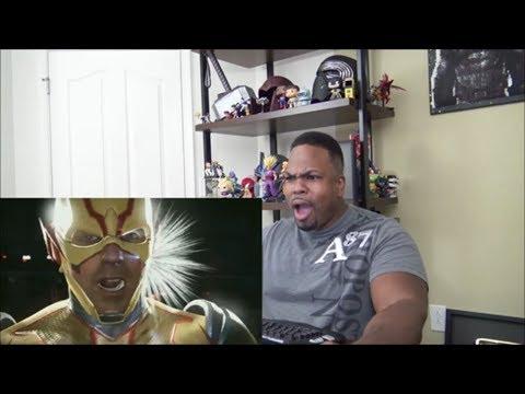 Injustice 2 - Introducing Atom! - REACTION!!!